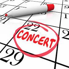 Rappel de concerts